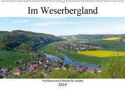 Im Weserbergland – Von Hannoversch Münden bis Minden (Wandkalender 2019 DIN A2 quer) von happyroger