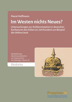 Im Westen nichts Neues? von Hoffmann,  Pascal