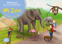 Im Zoo mit Emma und Paul. Kamishibai Bildkartenset. von Bohnstedt,  Antje, Lehner,  Monika