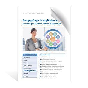 Imagepflege in digitalen Medien von Caviglia,  Daniela A