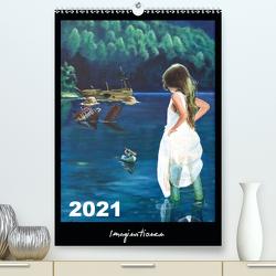 Imaginationen (Premium, hochwertiger DIN A2 Wandkalender 2021, Kunstdruck in Hochglanz) von Artemys