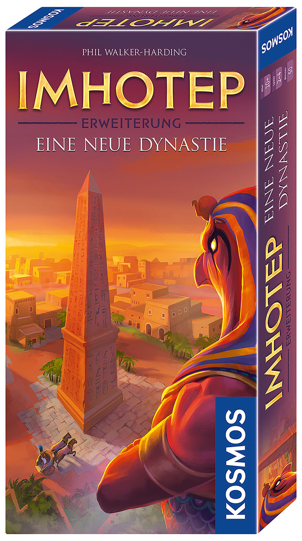 imhotep erweiterung eine neue dynastie von walker harding phil f. Black Bedroom Furniture Sets. Home Design Ideas