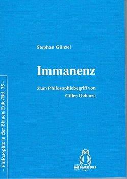 Immanenz von Günzel,  Stephan