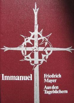 Immanuel / Immanuel I von Mayer,  Friedrich