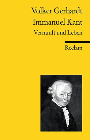 Immanuel Kant von Gerhardt,  Volker