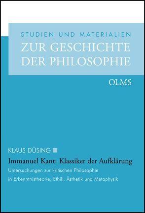 Immanuel Kant: Klassiker der Aufklärung von Düsing,  Klaus