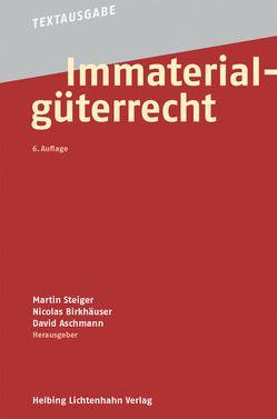 Immaterialgüterrecht von Aschmann,  David, Birkhäuser,  Nicolas, Steiger,  Martin