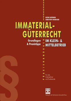 Immaterialgüterrecht im Klein- & Mittelbetrieb von Brünner,  Georg, Pasrucker,  Christoph