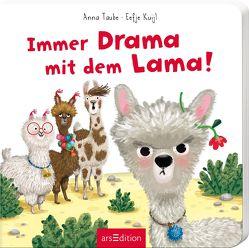 Immer Drama mit dem Lama von Kuijl,  Eefje, Taube,  Anna