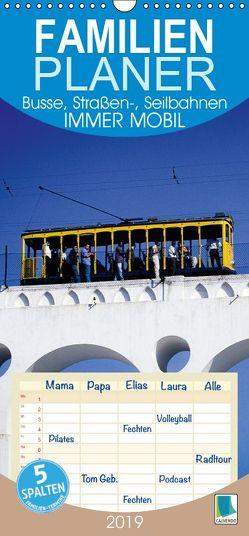 Immer mobil: Busse, Straßen-, Seilbahnen (Wandkalender 2019 PRO_49_format hoch) von CALVENDO