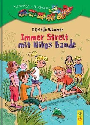 Immer Streit mit Nikos Bande von Kranz,  Sabine, Wimmer,  Elfriede