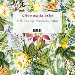 Immerwährender Geburtstagskalender floral 2020 – Archive by Portico Designs – Quadrat-Format 24 x 24 cm von DUMONT Kalenderverlag