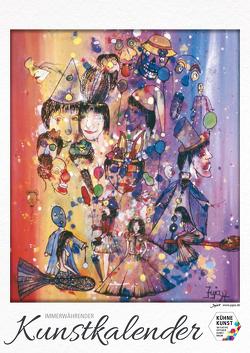 Immerwährender Kunstkalender von Wagner,  Julia JUJAX