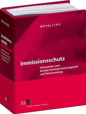 Immissionsschutz – Einzelbezug von Halmschlag,  Achim, Kalmbach,  Siegfried, Nöthlichs,  Matthias, Schmatz,  Hans