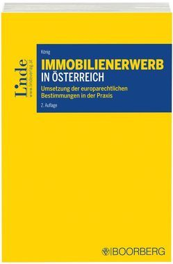 Immobilienerwerb in Österreich von Koenig,  Manfred
