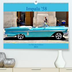 Impala '58 – Ein Chevy der Extraklasse (Premium, hochwertiger DIN A2 Wandkalender 2021, Kunstdruck in Hochglanz) von von Loewis of Menar,  Henning