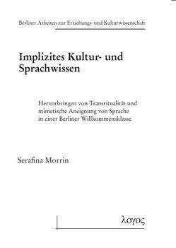 Implizites Kultur- und Sprachwissen von Morrin,  Serafina
