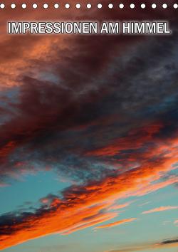 Impressionen am Himmel (Tischkalender 2021 DIN A5 hoch) von Geduldig,  Bildagentur