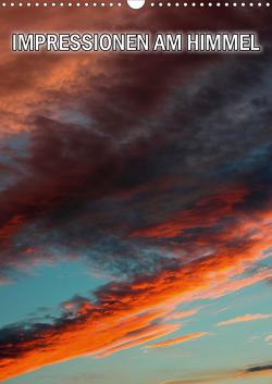Impressionen am Himmel (Wandkalender 2021 DIN A3 hoch) von Geduldig,  Bildagentur