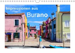 Impressionen aus Burano (Wandkalender 2019 DIN A4 quer) von Hampe,  Gabi