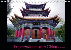 Impressionen aus China (Tischkalender 2021 DIN A5 quer) von M. Gibson - www.ilsegibson.com,  Ilse