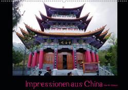 Impressionen aus China (Wandkalender 2021 DIN A2 quer) von M. Gibson - www.ilsegibson.com,  Ilse