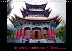 Impressionen aus China (Wandkalender 2021 DIN A4 quer) von M. Gibson - www.ilsegibson.com,  Ilse