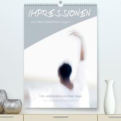 Impressionen aus dem Ballettsaal Hagen (Premium, hochwertiger DIN A2 Wandkalender 2020, Kunstdruck in Hochglanz) von und Medienkunst Kerstin Hesse,  Foto-