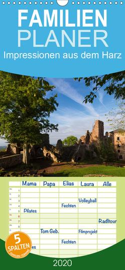 Impressionen aus dem Harz – Familienplaner hoch (Wandkalender 2020 , 21 cm x 45 cm, hoch) von Levi,  Andreas