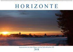 Impressionen aus dem Hegau und der Schwäbischen Alb (Wandkalender 2018 DIN A2 quer) von Briehl,  Ludwig