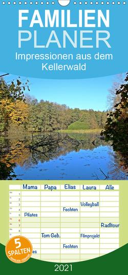 Impressionen aus dem Kellerwald – Familienplaner hoch (Wandkalender 2021 , 21 cm x 45 cm, hoch) von Busch,  Eva