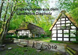 Impressionen aus dem Landkreis Diepholz (Tischkalender 2019 DIN A5 quer) von Wösten,  Heinz