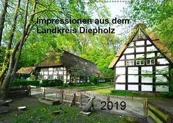 Impressionen aus dem Landkreis Diepholz (Wandkalender 2019 DIN A2 quer) von Wösten,  Heinz