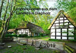Impressionen aus dem Landkreis Diepholz (Wandkalender 2019 DIN A3 quer) von Wösten,  Heinz