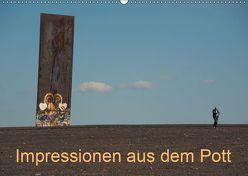 Impressionen aus dem Pott (Wandkalender 2019 DIN A2 quer) von Fritsche,  Klaus