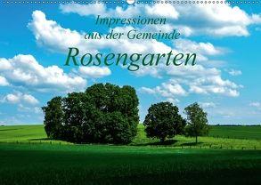 Impressionen aus der Gemeinde Rosengarten (Wandkalender 2018 DIN A2 quer) von Hampe,  Gabi