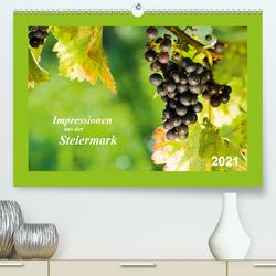 Impressionen aus der Steiermark (Premium, hochwertiger DIN A2 Wandkalender 2021, Kunstdruck in Hochglanz) von Dzierzawa (DoraZett),  Judith