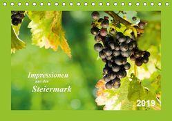 Impressionen aus der Steiermark (Tischkalender 2019 DIN A5 quer) von Dzierzawa (DoraZett),  Judith