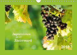 Impressionen aus der Steiermark (Wandkalender 2019 DIN A4 quer) von Dzierzawa (DoraZett),  Judith