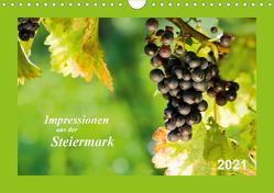 Impressionen aus der Steiermark (Wandkalender 2021 DIN A4 quer) von Dzierzawa (DoraZett),  Judith
