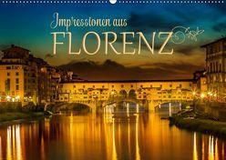 Impressionen aus FLORENZ (Wandkalender 2019 DIN A2 quer) von Viola,  Melanie