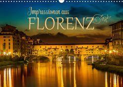 Impressionen aus FLORENZ (Wandkalender 2019 DIN A3 quer) von Viola,  Melanie