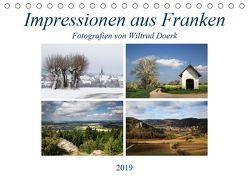 Impressionen aus Franken (Tischkalender 2019 DIN A5 quer) von Doerk,  Wiltrud