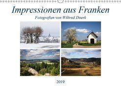 Impressionen aus Franken (Wandkalender 2019 DIN A3 quer) von Doerk,  Wiltrud