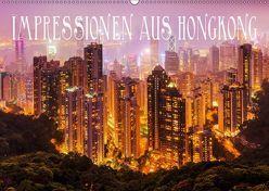 Impressionen aus Hong Kong (Wandkalender 2019 DIN A2 quer) von Müller,  Christian