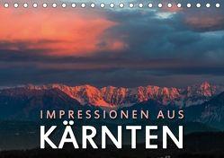 Impressionen aus Kärnten (Tischkalender 2018 DIN A5 quer) von Dr. Günter Zöhrer,  ©