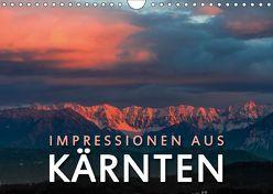 Impressionen aus Kärnten (Wandkalender 2019 DIN A4 quer) von Dr. Günter Zöhrer,  ©