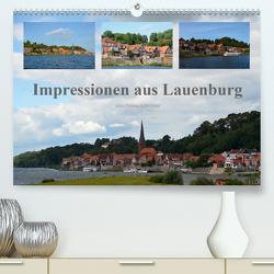 Impressionen aus Lauenburg (Premium, hochwertiger DIN A2 Wandkalender 2020, Kunstdruck in Hochglanz) von N.,  N.
