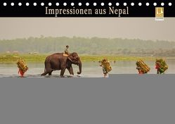 Impressionen aus Nepal (Tischkalender 2018 DIN A5 quer) von Niemann,  Maro