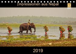 Impressionen aus Nepal (Tischkalender 2019 DIN A5 quer) von Niemann,  Maro